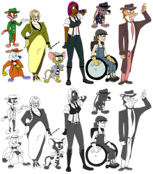 Mob Cast by madfather