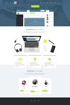 Cupify Homepage Layout by callofsorrow