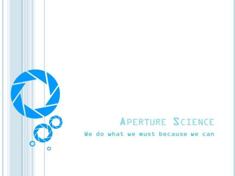 Aperture Science PP Template by Yoshemo