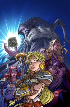 Valkyries issue 2 by Javat