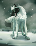 Ice Wolf by IceriftFyera