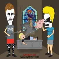Beavis and Butthead BM by Goryboy