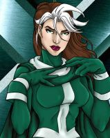 Rogue - Leader of X-Men by JGiampietro