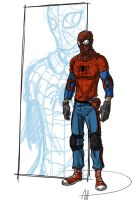 More real Spider-Man redesign by deralbi