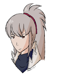 (MS Paint doodle) Takumi - Fire Emblem Fates by Art-By-Ethera