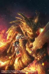 Dark Souls Comic: Issue 3 Cover by Wolfie-chama
