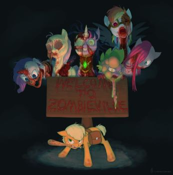 Welcome To Zombieville by Siansaar