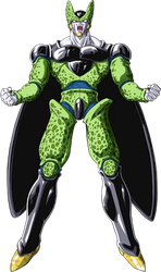 Perfect Cell render [Super Dragon Ball Z] by maxiuchiha22