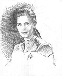 Dax from DS9 by ssava