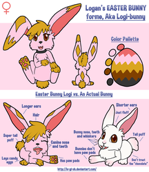 Logan: Easter Bunny Ref 2015 by Lohlite