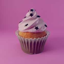 3D Cupcake by sziabori