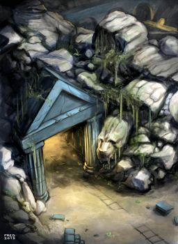 Les Mines d'Arkoon by zompf