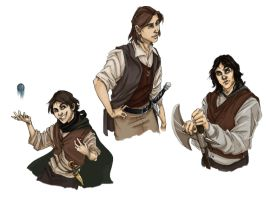 Wheel of Time characters by Forbis