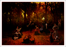 Samhain Celebration by Pinktutu