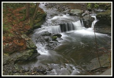 Dingmans Creek Cascade by ambermac148