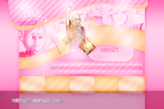 Pixie Lott Layout by R21Art