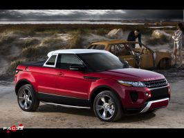 Range Rover Evoque Pickup by pacee
