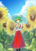 Yuuka by theredscythe