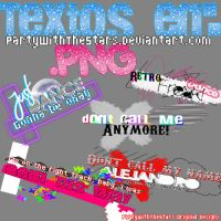 textos .PNG de Lady GaGa by PartyWithTheStars