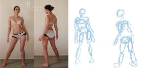 Character Design: Gesture Drawing by natrash