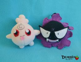 Igglybuff and Gastly