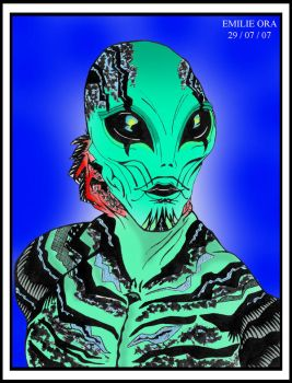 Abe Sapien 2 by Falang