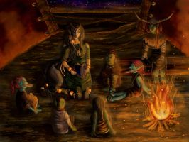 Campfire Tales by ArcticNomad