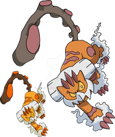 645 - Landorus (Therian Forme) - Art v.2 by Tails19950