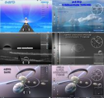 aero - gnome-shell n cinnamon theme pack by rvc-2011