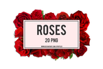+ROSES | PACK PNG #01 by xPufflex