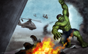 The Hulk by atma33