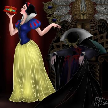 Snow White 2, Disney by SerisaBibi