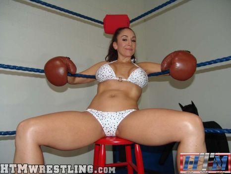 Jewell Marceau - Female Boxer by boxingwrestling