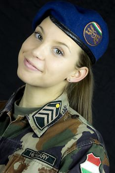 Just a very attractive cadet by HubyLaaner
