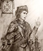 Shahdokht Roshanara, Astabadh of Eranshah Empire by Gambargin