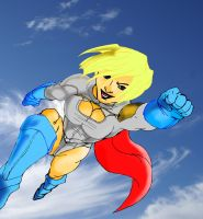 Power Girl by jerome13001