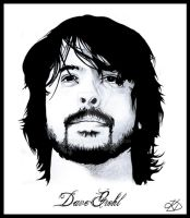 Dave Grohl by Devrobia