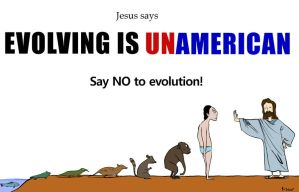 Evolving is unamerican by Velica