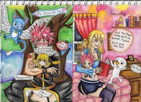 Natsu and Lucy's Little Secret by Phoenixx305