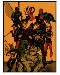 Young Justice Entry Color by taurence