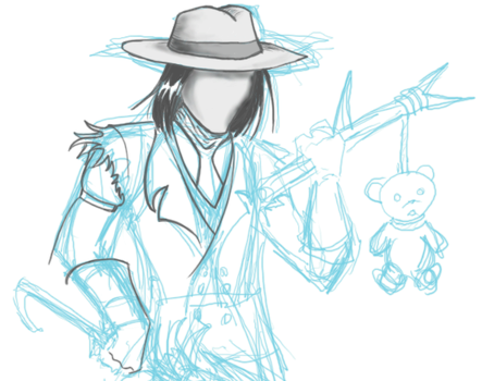 Trilby Prince WIP by MikeYoungster