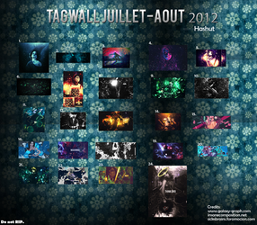 Tagwall Juillet/Aout 2012 by Hashuut