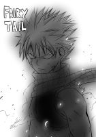 Fairy Tail - Natsu by Andrawing