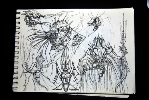Freehand Sketching2 by jucari