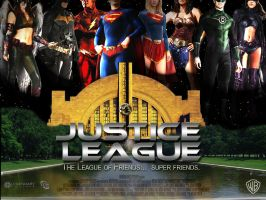 Justice League Movie Poster by Alex4everdn