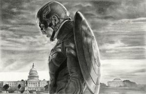 Captain America by bloofeesh
