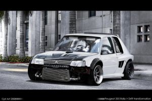 Peugeot 205 Drift machine by CptDesign