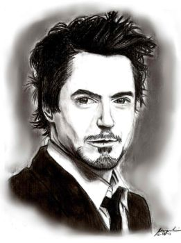 Robert Downey Jr. by carlo321