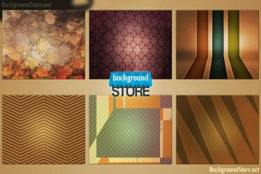 Vintage Backgrounds Bundle by BackgroundStore