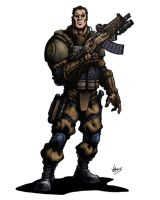 MHI RPG Owen Pitt by VASS-comics